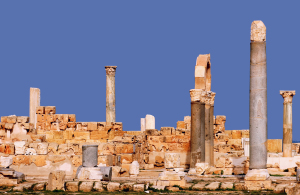 The ancient city of Sabratha, Libya